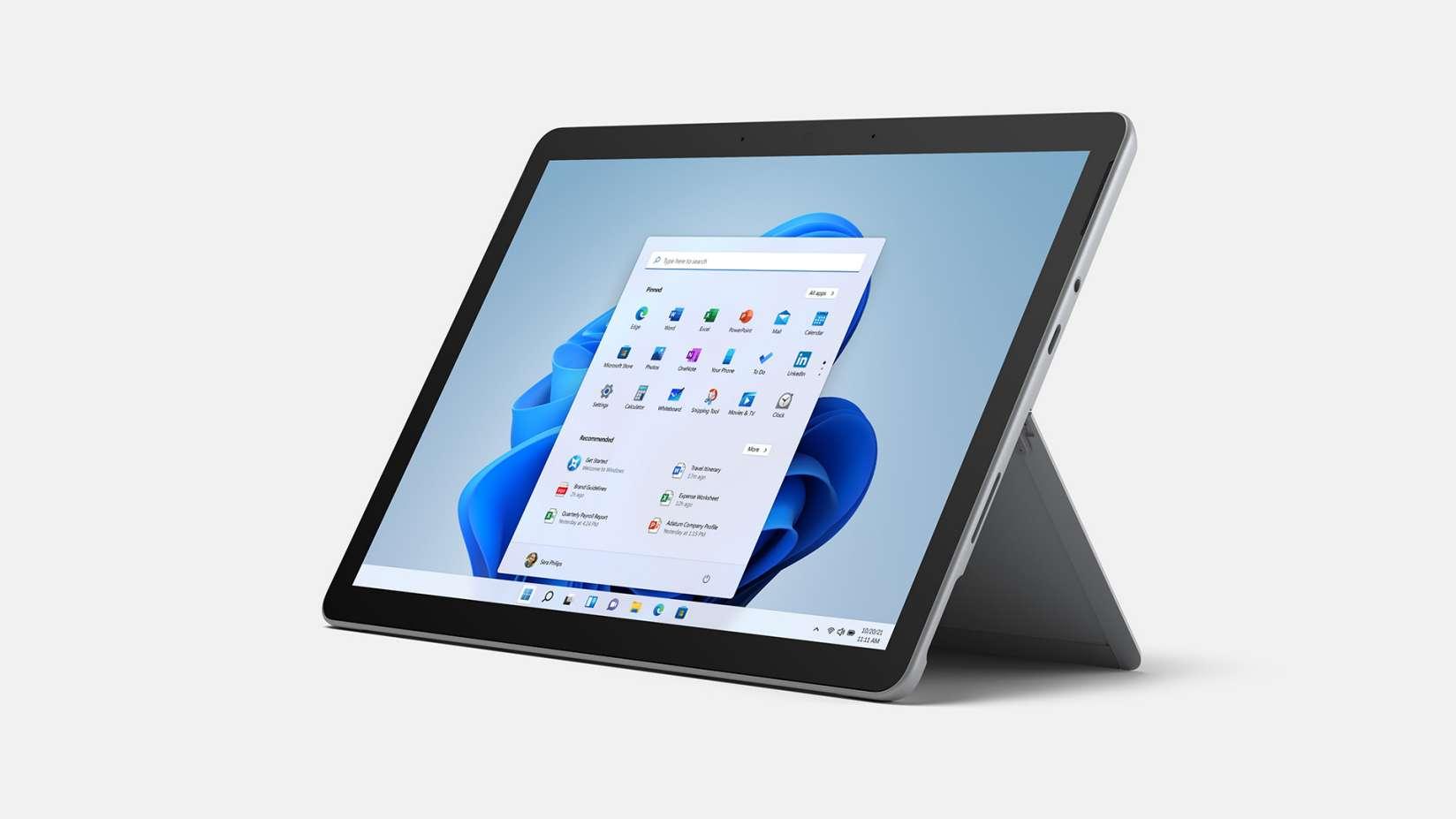 Surface Go 3為最輕巧可攜的Surface PC,透過第10代Intel Core i3處理器提供二合一的多樣使用情境.jpg