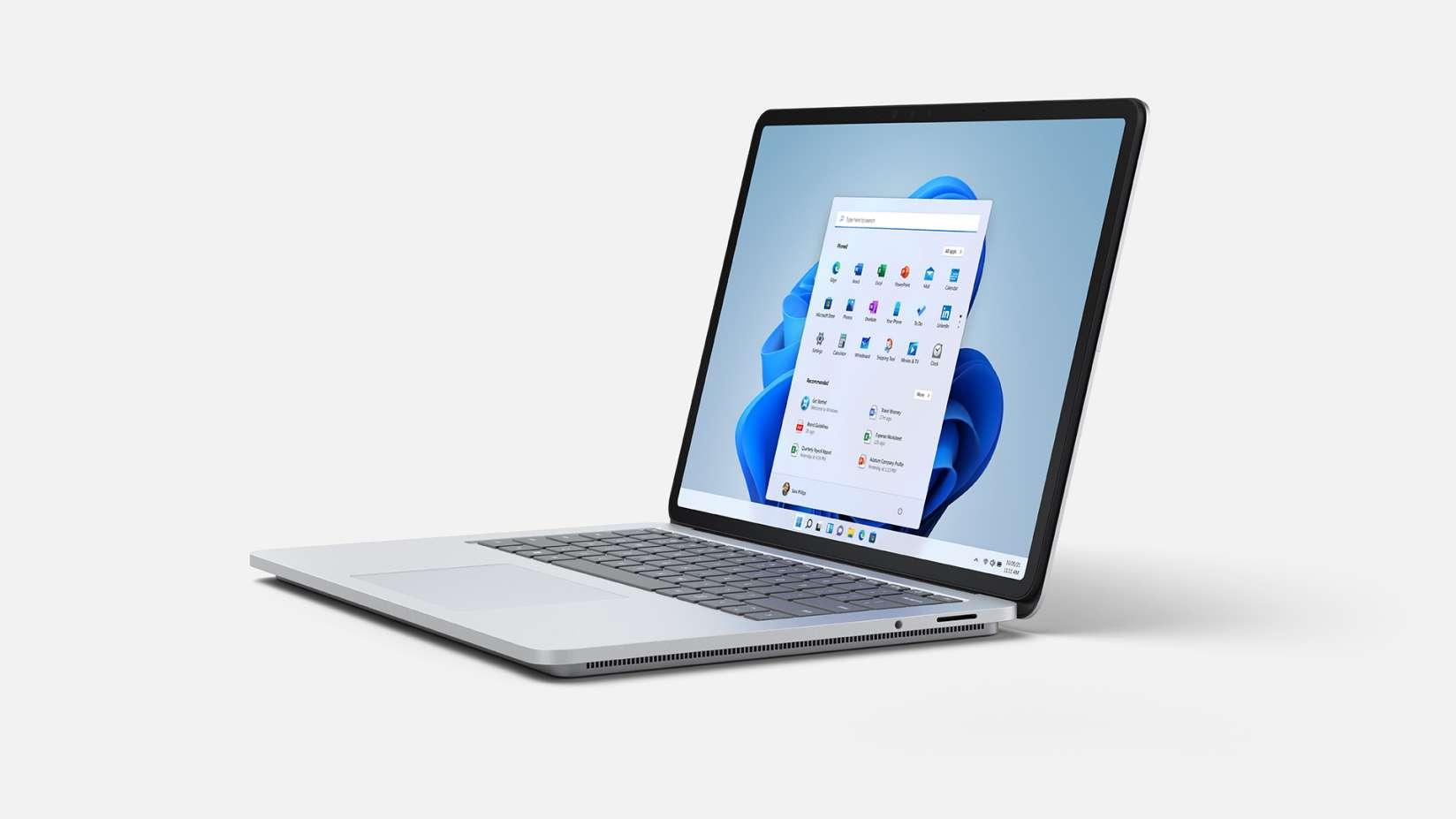 Surface Laptop Studio是由第11代Intel Core H35處理器所驅動的最強大Surface,讓用戶在3種工作模式間無縫轉換.jpg